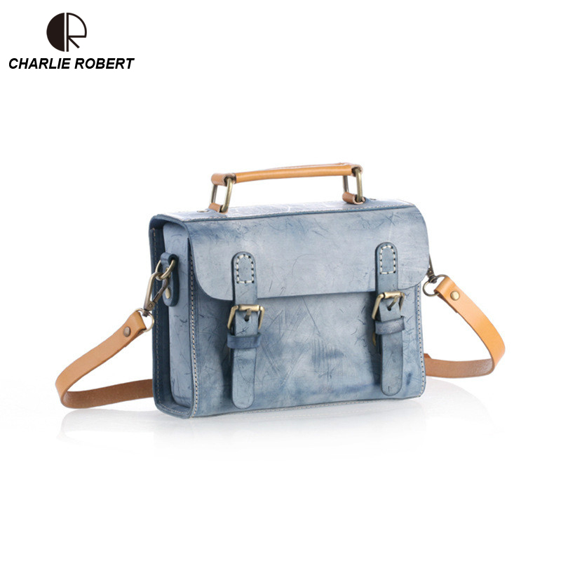 2019 New Women Lady Genuine Cow Leather Shoulder Bag Casual Solid Five Colors Hand-made Vintage Crossbody Bags 2019 New Women Lady Genuine Cow Leather Shoulder Bag Casual Solid Five Colors Hand-made Vintage Crossbody Bags