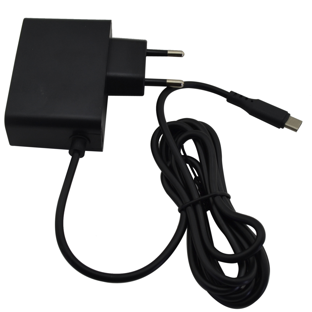 100PCS For Nintendo Switch for NS Game Console AC Adapter Power Supply Charger EU Plug