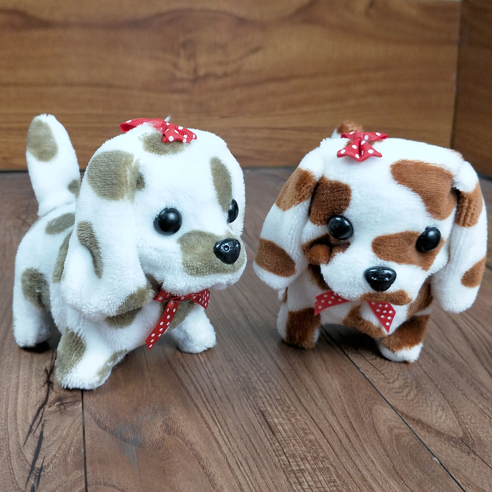 1PCS Children's Electric Plush Toy Dog Will Call Walking Puppy Music Mechanical Dog Toy Electronic Pet
