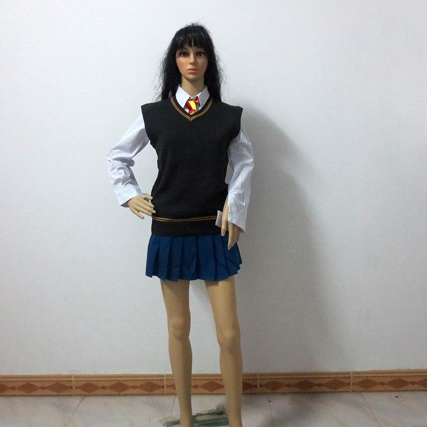 Costume Halloween Hermione.Hermione Granger Gryffindor Uniform Cosplay Costume Halloween Custom Made Any Size