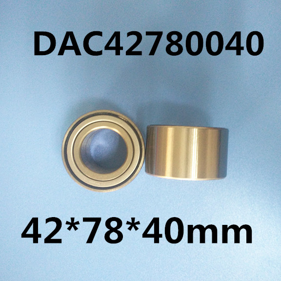 2pcs DAC42780040 42*78*40mm High Quality Bearing auto bearings hub car bearing f 846067 01 f846067 846067 automobile transmission bearings 56x86x25 mm bearing good quality auto bearing