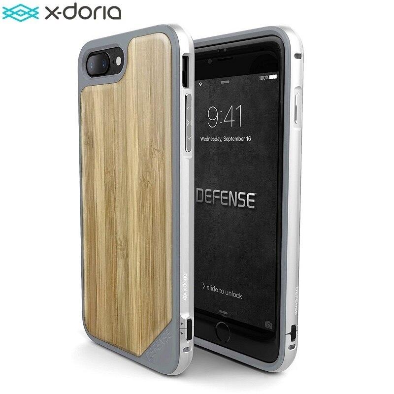 X-Doria Case for iPhone 7 (Defense Lux) Military Grade Drop Tested, TPU & Aluminum Premium iPhone7 Protective Cover Coque