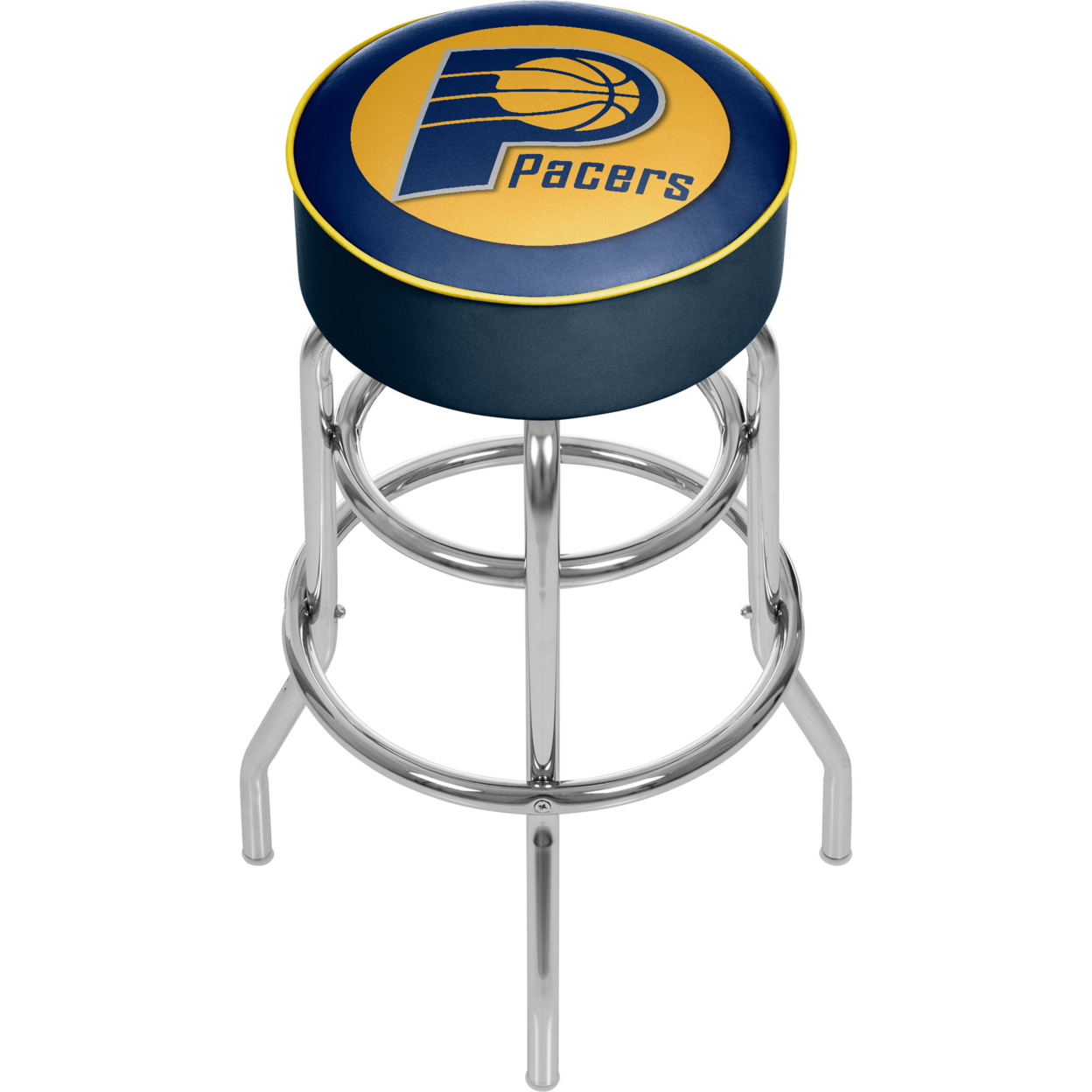 Indiana Pacers NBA Padded Swivel Bar Stool 30 Inches High фанатская атрибутика nike curry nba