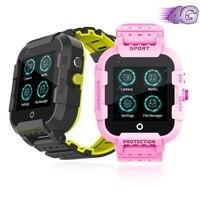 Smart 4G IPX7 Waterproof Remote Camera GPS WI FI Child Student Smartwatch SOS Video Call Monitor Tracker Location Phone Watch