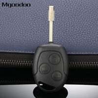 New 3 Buttons Remote Key Shell Case 433MHz ID60 Chip For Ford Fiesta Focus Mondeo KA