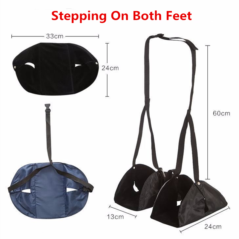 RUPUTIN Travel Footrests Flight Carry-on Adjustable Foot Rest Portable Foot Rest Pad Essential Airplane Train Travel Accessories