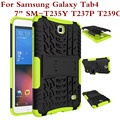 Case For Samsung Galaxy Tab 4 7.0 SM T235Y T239C T237P SM-T230NU T230NY T230NT Heavy Duty Rugged Impact Hybrid Kickstand Cover