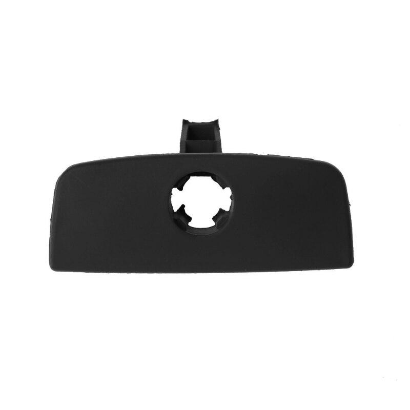 1x Black for VW Passat B5 Car Inner Storage Glove Box Handle Cover Lid Lock Hole
