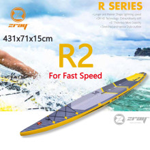 Tabla de surf 431x71x15 cm 14ft JILONG Z RAY R2 inflable sup carrera rápido de pie tabla de paleta de surf velocidad deporte bodyboard(China)