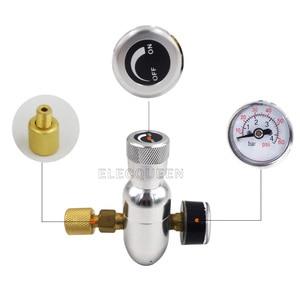 "Image 3 - Premium Gereglementeerde CO2 Charger Kit, 0 60 PSI met bal lock Gas Disconnect, mini CO2 Regulator, 3/8 ""draad co2 draad Hombrewing"