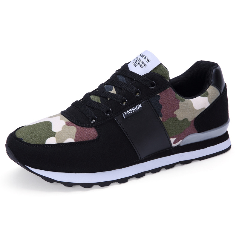 Breathable Men Casual Shoes Camouflage Men's Shoes Male Trainers Low Top Walking Jogging Shoes Zapatillas Deportivas XK032710 вентилятор