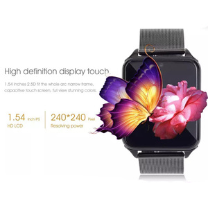 Image 2 - Z60 Bluetooth Smart Watch Phone Men Women Support 2G SIM TF Card Camera for Android Iphone Huawei Xiaomi Smartwatchs PK GT08 X6