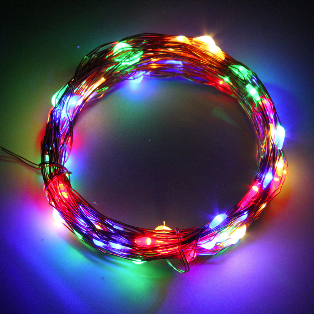 2017 Super Deal 10M 100LED Copper Wire Xmas Wedding String