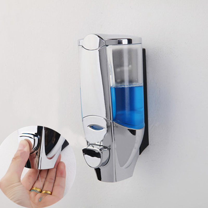 450ML  Wall Mounted Touch Soap Dispenser Sanitizer Shower Shampoo Dispenser Bathroom Product