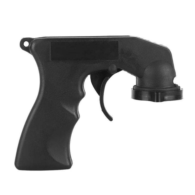 Spray Adaptor Paint Care Aerosol Spray Gun Handle With Full Grip Trigger Locking Collar Car Maintenance Handle With Full Grip
