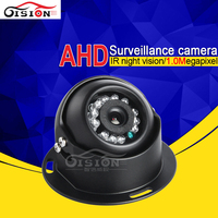 Free Shipping Indoor Mini Metal Dom AHD Camera 1 0MP 1 3MP HD Bus Camera With