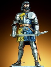 Resin Kits 1 9 Scale Italy s knight 90mm 1440 1552 Resin Model Free Shipping