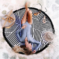 7 Types Beach Collection Round Roundie Beach Throw Tapestry Hippy Hippie Gypsy Thick Beach Towel with Fringe Tassels Yoga Mat