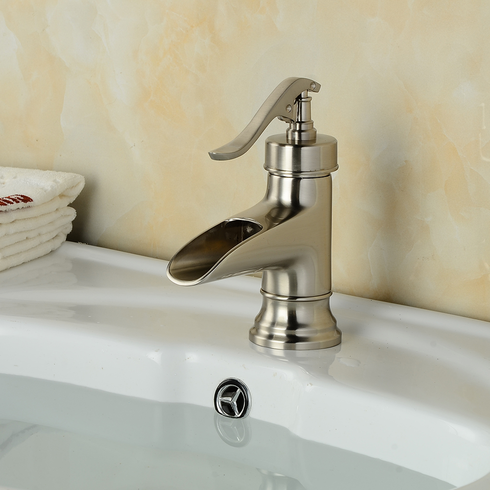 7 Faucet Finishes For Fabulous Bathrooms: BAKALA White/Nickel/ORB/Antique Finished Color Finish