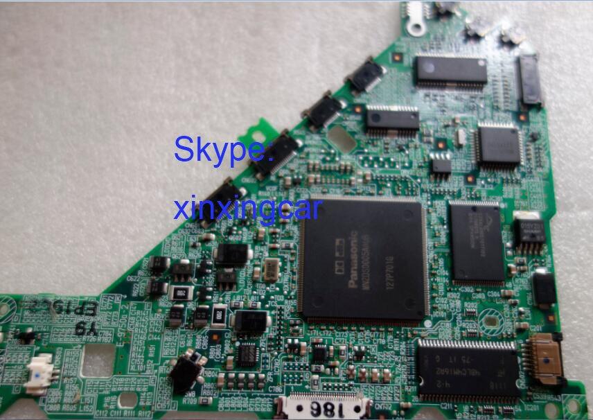 New PC board for Matsushita 6 disc DVD changer for Mercedes Cadillakk Escalade car navigation De-phi PN:28095246 G&M PN:25798198