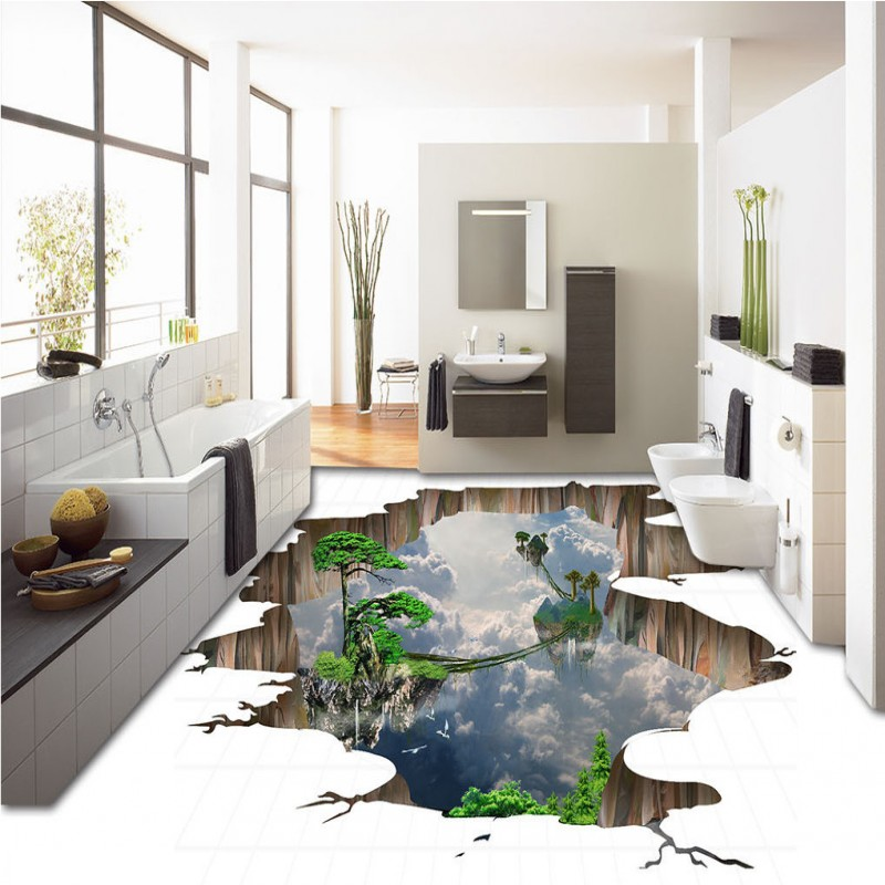 Free shipping custom Outdoor Long Pine Tree 3D floor Background Wall home decoration bathroom bedroom flooring wallpaper mural  free shipping retro female star mural background wall bathroom studio home decoration artistic studio bedroom wallpaper