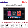 Liislee For Toyota Hilux AN120 AN130 Stereo Android Radio DVD Player TV BT GPS MAP Navigation