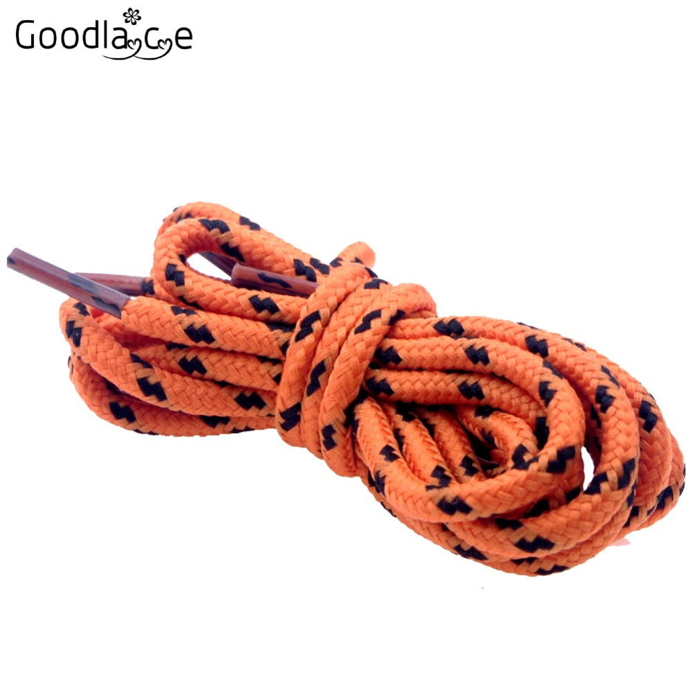 """New unisex 55/"""" polka dots Round hiking walking boot Shoelace 9 colors"""