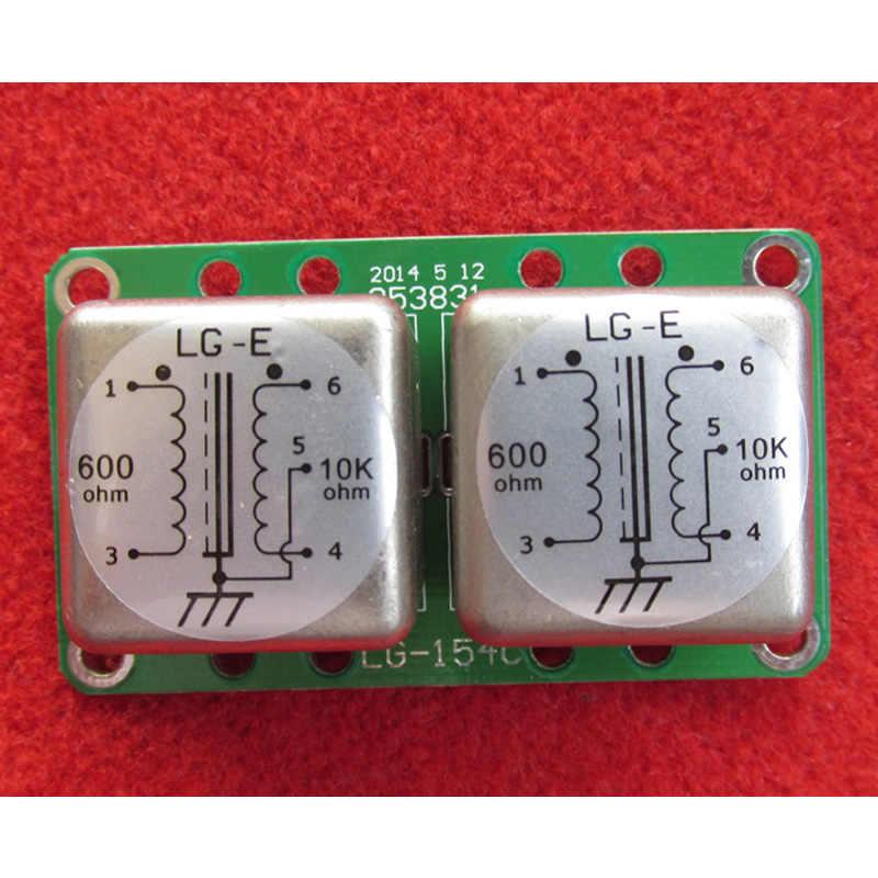 600: 10 18K permalloy オーディオ信号ブースト分離トランス、 4 回増幅。適切なオーディオマイク
