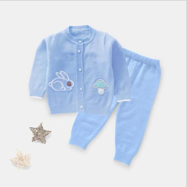 aa10d04e2 Boys Girls Sweater Clothes Set Top+Pants Infant Baby Clothing Set ...