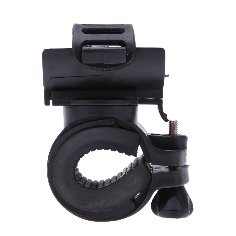 Clip Light-Holder Bicycle Flashlight Bike-Clamp Cycling-Grip-Mount Led-Torch Rotatable