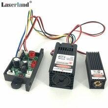 650nm 150mW אדום + 532nm 50mW ירוק לייזר מודול דיודה TTL 12V TEM שלב תאורה