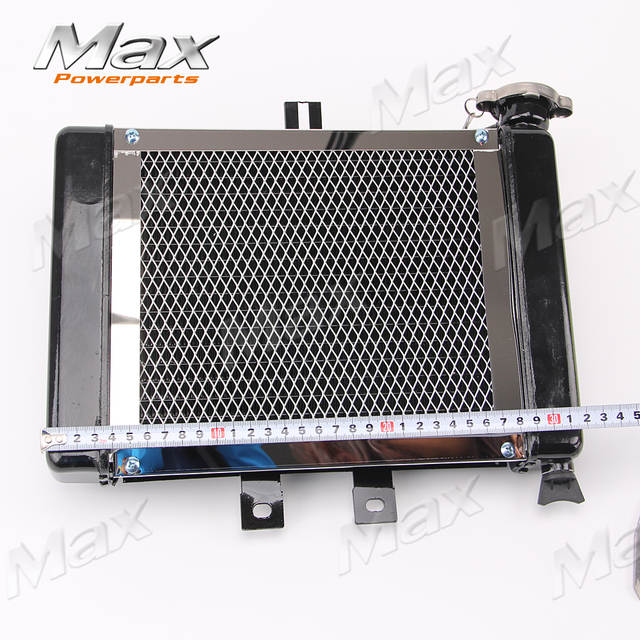 Motorcycle Big Radiators Cooling System for 200cc-250cc Water Cooled Water  Cooling ATV Dirt Bike & Go Kart