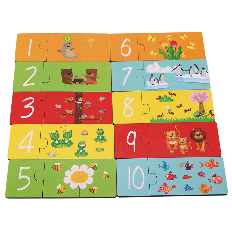 1 10 Digital Card Puzzles Baby Literacy Card Learning ...