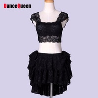Professional Belly Dance Costume Set Women Sexy Lace Top Skirt Ropa Danza Del Vientre Clothes For