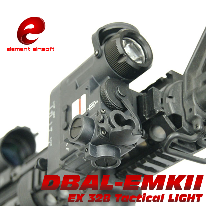 Element Softair Airsoft Gun Tactical Wapens Flashlight IR Laser DBAL EMKII D2 Weapon lazer Light Tatical Military Arms lampe element dbal d2 battery case red dot laser pointer led flashlight ir illuminayor remote control tactical military weapon lights