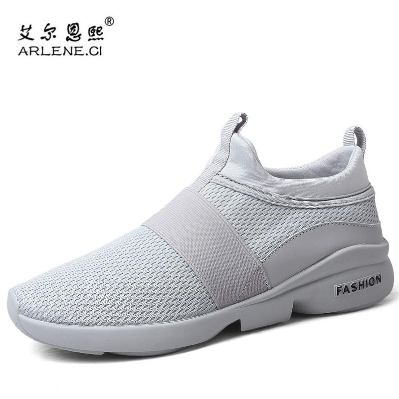 0fdd73b3228 Plus size 46 New Arrive Tennis Shoes for Men Air Mesh Slip-on Outdoor  Breathable Sports Sneakers Lightweight Mens Shoes Trainers