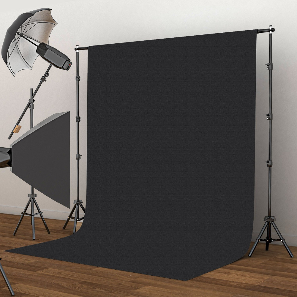 2X3m Photo Background Fotografia Green Screen Photography Backdrops Chroma Key White Backdrop Black Backgrounds for Photo Studio