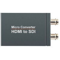 Micro Converter HDMI to SDI with Power Mini 3G HD 1080P SD SDI Video Converter Adapter Auto Format Detection for Camera