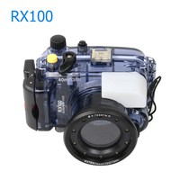 Waterproof Case for Sony RX100 Mark I Photography Underwater 40m Protective Housing Scuba Diving Equipment Camera Accessory