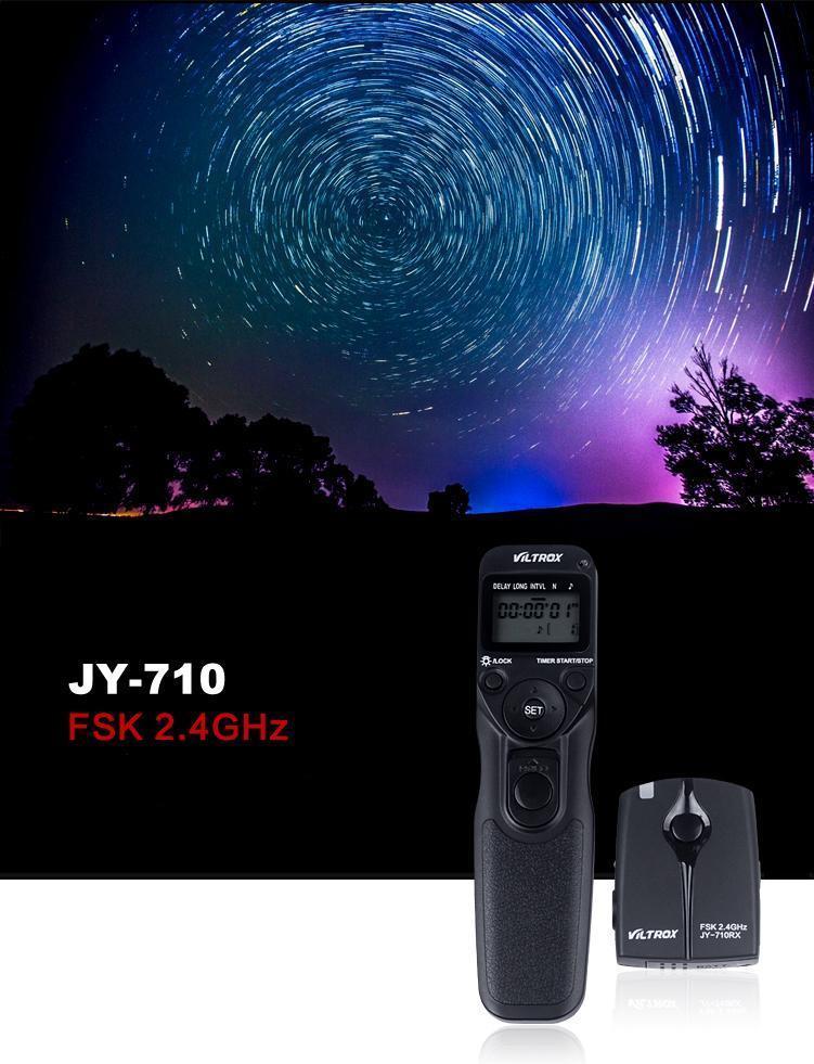 Viltrox JY-710 Bežični brojač otpuštanja okidača Daljinski - Kamera i foto - Foto 4