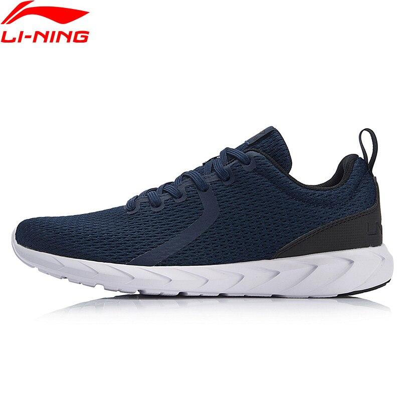 Li-Ning/мужские кроссовки для бегунов из дышащего материала с легкой подкладкой, удобная спортивная обувь, ARBN069 XYP747