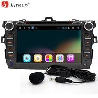 2 DIN Android 6.0 dvd-плеер автомобиля 16 г Quad-Core 1024*600 экран для Toyota Corolla 2007 2008 2009 2010 2011 с GPS стерео радио