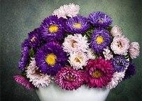 Embroidery Decoration Painting Diamond Cross Stitch Gift Home Decor New DIY 5D Full Diamond Daisy Flower