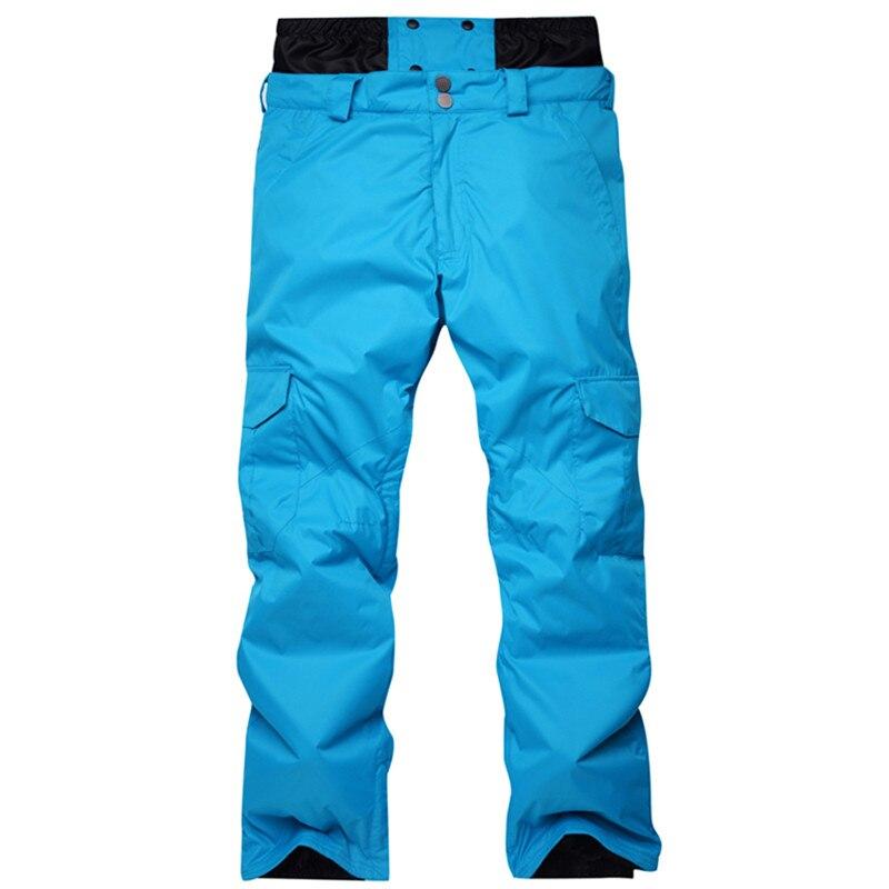 -30 Degree Snowboard Pants Men Ski Trousers Waterproof 10K Breathable Winter Snow Pant Male Brand Ski Skiing Trousers