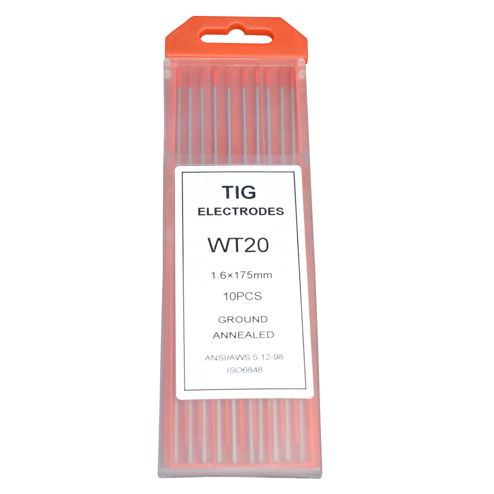 TIG Welding Electrode Thoriated Tungsten Electrode-wt20 1.6*175mm Price $12.90