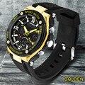 Multifunctional Men's Sports Watches Luxury Mens LED Digital Sports Watch Waterproof Rubber Date Alarm Wrist Watch 2016 Hot