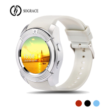 V8 Smart font b Watches b font Smartwatch Phone Call Relogio Bluetooth Call Reminder Wearable Smart
