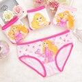 4 unids/lote chica chica briefs niños ropa interior para niñas pantalones de La ropa interior de la muchacha del algodón A1092-4P
