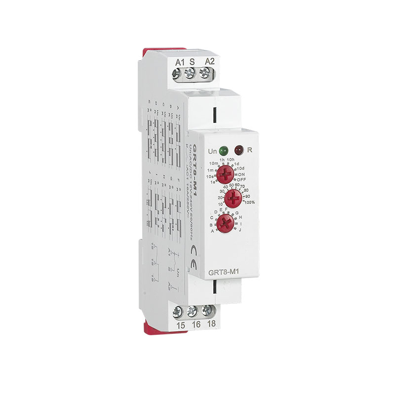цена на Multi-Function Din Rail Time Relay 16A Industrial Control Auto Timer Relays Time Delay GRT8-M1/M2