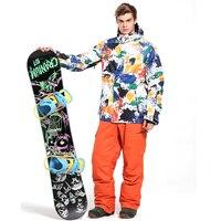 冬のジャケット男性スキースーツジャケット男
